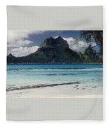 Bora Bora Fleece Blanket