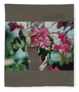 Bouganvillea Fleece Blanket