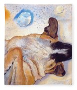 Dog Dreams Fleece Blanket