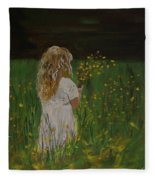 Flowers For You Fleece Blanket