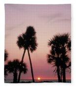 Hawaiian Delight Fleece Blanket