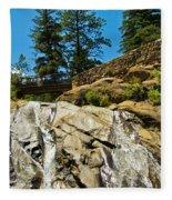 Helen Hunt Falls Fleece Blanket
