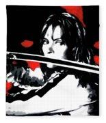 Kill Bill Fleece Blanket