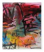 Landscape Sketch27 Fleece Blanket