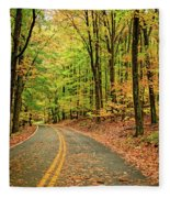 Lost In Pennsylvania Fleece Blanket