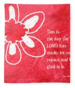 Rejoice Fleece Blanket