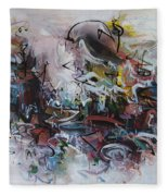 Seascape206 Fleece Blanket