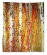 Strange Forest Fleece Blanket