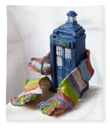 Tardis Ll Fleece Blanket