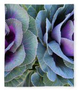 The Cabbage Patch Fleece Blanket
