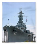 Uss Alabama Fleece Blanket