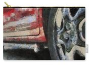 Car Rims 02 Photo Art 03 Carry-all Pouch