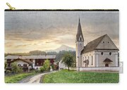 Country Church Carry-all Pouch by Debra and Dave Vanderlaan