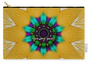 Love And Peace Art Carry-all Pouch