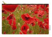 Red Poppies 4 Carry-all Pouch
