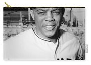 Willie Mays (1931- ) Carry-all Pouch by Granger