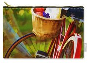 A Loaf Of Bread A Jug Of Wine And A Bike Carry-all Pouch by Elaine Plesser
