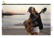 Beach Musician Carry-all Pouch by Bob Christopher