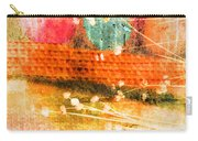 Branches And Brush Strokes Carry-all Pouch