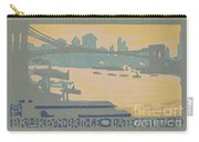 Brooklyn Bridge Late Afternoon Carry-all Pouch