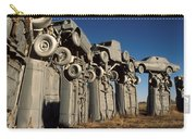 Carhenge In The Afternoon Carry-all Pouch
