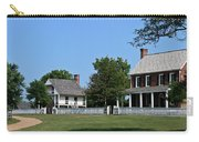 Clover Hill Tavern Appomattox Court House Virginia Carry-all Pouch by Teresa Mucha