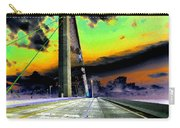 Dreaming Over The Skyway Carry-all Pouch by David Lee Thompson