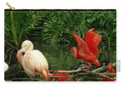 Flamingo And Scarlet Ibis Carry-all Pouch