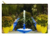Fountain In Jardin Majorelle Morocco Carry-all Pouch