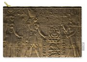 Hieroglyph At Edfu Carry-all Pouch