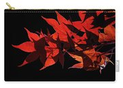 Leaves Of Red Carry-all Pouch