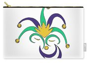 Mardi Gras Jester Carry-all Pouch
