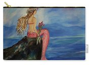 Mermaid Rainbow Wishes Carry-all Pouch