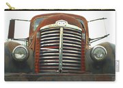 Old International Gravel Truck Carry-all Pouch by Randy Harris