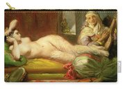 Reclining Odalisque Carry-all Pouch by Theodore Chasseriau