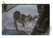 Sailors Jump Out Of A C2-a Greyhound Carry-all Pouch