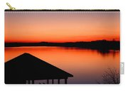 Smith Mountain Sunset Carry-all Pouch