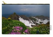 The Alps Wildflowers Carry-all Pouch