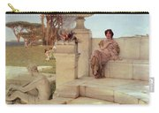 The Voice Of Spring Carry-all Pouch by Sir Lawrence Alma-Tadema