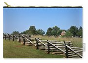 View Of Clover Hill Tavern Appomattox Court House Virginia Carry-all Pouch by Teresa Mucha