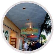 Jimmy Buffet's Margaritaville Key West Round Beach Towel