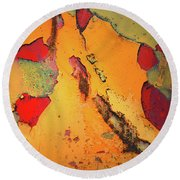 Aging In Colour 6 Round Beach Towel