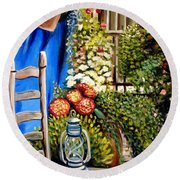 Colbolt Round Beach Towel