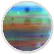 Color26mlv - Impressions Round Beach Towel