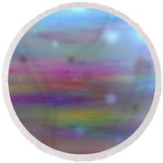Colour11mlv - Impressions Round Beach Towel