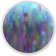 Colour14mlv - Impressions Round Beach Towel