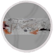 Righteous Judgment Two Long Round Beach Towel