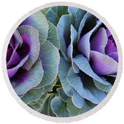 The Cabbage Patch Round Beach Towel