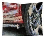 Car Rims 02 Photo Art 03 Tapestry
