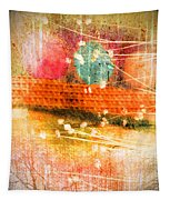 Branches And Brush Strokes Tapestry